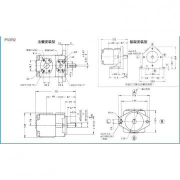 YUKEN Piston pump A16-L-R-04-H-S-K-32