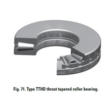 THRUST TAPERED ROLLER BEARINGS T520