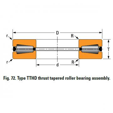 THRUST TAPERED ROLLER BEARINGS T451