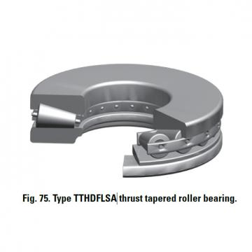 TTHDFLSA THRUST TAPERED ROLLER BEARINGS B–8073–C
