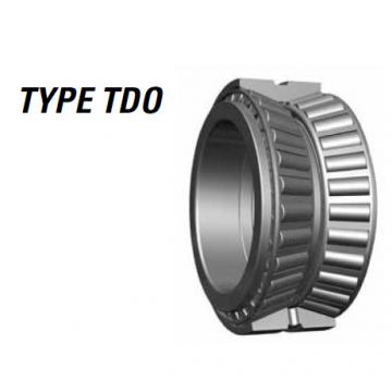 Tapered roller bearing 33885 33821D