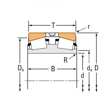 Bearing TDI TDIT Tapered Roller Bearings 13182D 13318