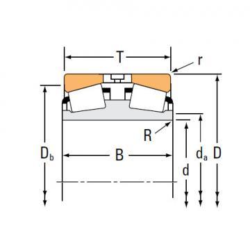 Bearing TDI TDIT Tapered Roller Bearings EE221039TD 221575