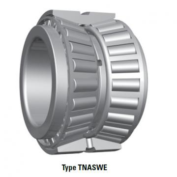 Bearing tapered roller bearings double row NA483SW 472D