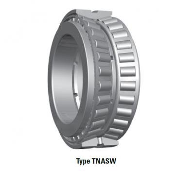 Bearing tapered roller bearings double row NA87700SW 87112D