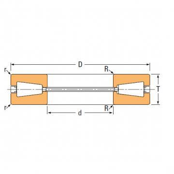 Bearing thrust bearings T82 T82W