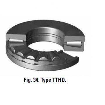 Bearing thrust bearings A-6096-C Machined