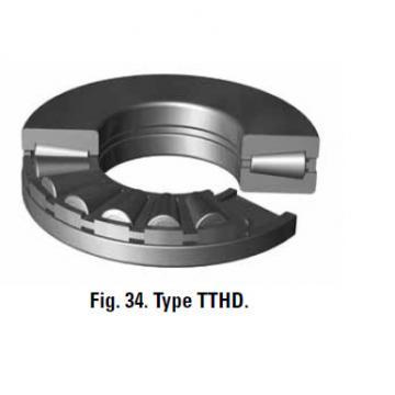 Bearing thrust bearings T691 Machined