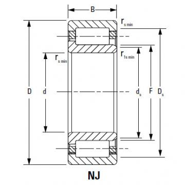 CYLINDRICAL ROLLER BEARINGS Bearing 210RF92 190RU92