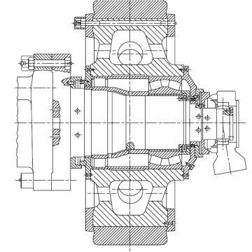CYLINDRICAL ROLLER BEARINGS Bearing 210RF92 170RN91