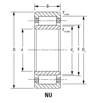 CYLINDRICAL ROLLER BEARINGS Bearing 210RF92 170RF51