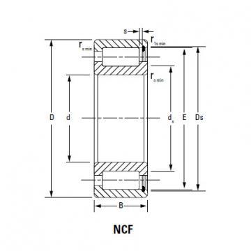 Bearing CYLINDRICAL ROLLER BEARINGS NNU4968MAW33