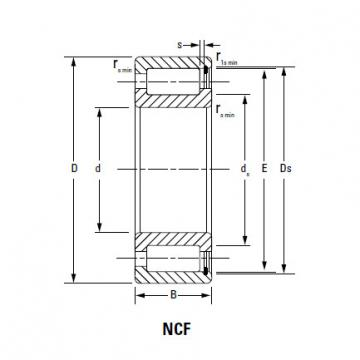 CYLINDRICAL ROLLER BEARINGS NCF2938V