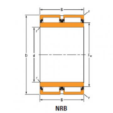 Bearing needle roller bearings Ta4130v na6912