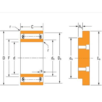 Bearing needle roller bearings Ta4034v