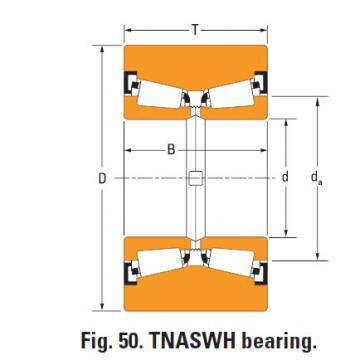 Bearing Tnaswh two row Tapered roller bearings na497sw k109597