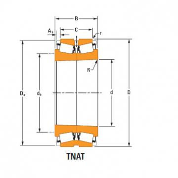 Bearing Roller Bearings m255449Td m255410