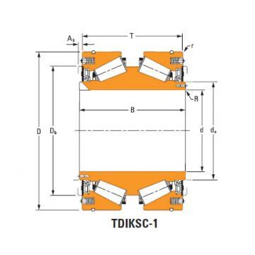 Tdik Thrust Tapered Roller Bearings nP738398 nP869543