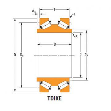 Tdik Thrust Tapered Roller Bearings ee181454dw 182350