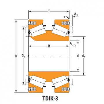 Tdik Thrust Tapered Roller Bearings 81577dw 81962