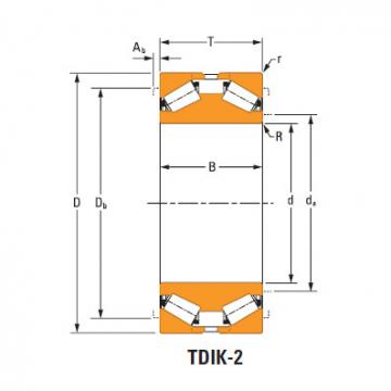 Tdik Thrust Tapered Roller Bearings nP419560 nP350963
