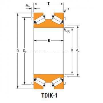 Tdik Thrust Tapered Roller Bearings aaac529 aaac755
