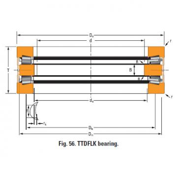 Bearing Thrust race double d-3327-g