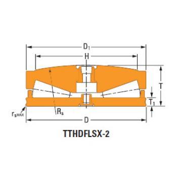 Thrust tapered roller bearings T511fs-T511sB