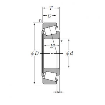 Bearing Tapered Roller Bearings Single Row EE571703/572650