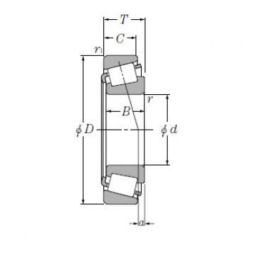Bearing Tapered Roller Bearings Single Row T-EE134100/134143