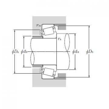 Bearing Tapered Roller Bearings Single Row EE526130/526190