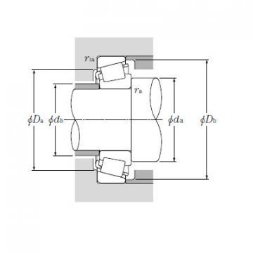 Bearing Tapered Roller Bearings Single Row HM746646/HM746610