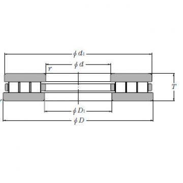 Thrust Bearings NTN CRTD11002