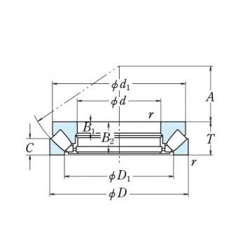 NSK Roller Bearing 29384