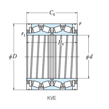 NSK FOUR ROW TAPERED ROLLER BEARINGS  240KVE3302E 240KVE3302E