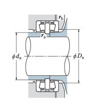 Bearing TAPERED ROLLER BEARINGS NSK 400KDH6505