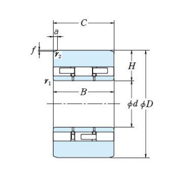 Bearing NSK Roll Bearings for Mills S55-1