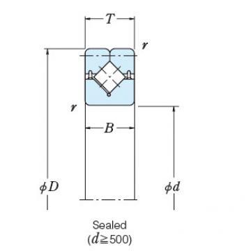 Bearing NSK ROLLER BEARINGS NRXT50050DD