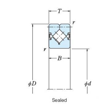 Bearing NSK ROLLER BEARINGS NRXT60040DD