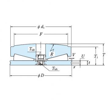 Tapered Roller Thrust Bearing 555TFV01