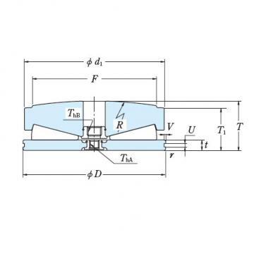 Tapered Roller Thrust Bearing 615TFV01