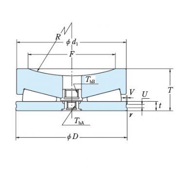 Tapered Roller Thrust Bearing 495TFV01