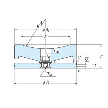 Tapered Roller Thrust Bearing 609TFV01