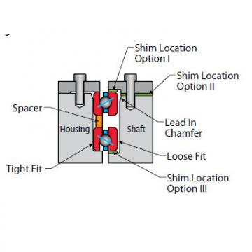 Bearing Thin Section Bearings Kaydon NA110CP0