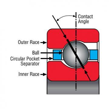 Bearing Thin Section Bearings Kaydon NB075CP0
