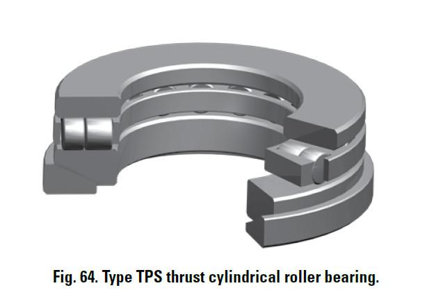 thrust cylindrical roller bearing 80TPS136