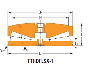 Thrust tapered roller bearings 148TTsX926Od806