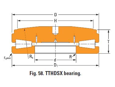 Thrust tapered roller bearings v-505-a