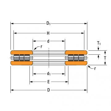 thrust cylindrical roller bearing J-903-A