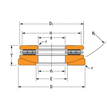 thrust cylindrical roller bearing 160TPS165